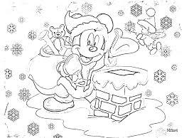 free printable disney christmas coloring printable 2714