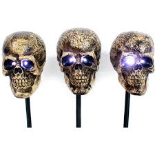 halloween skeletons decorations halloween skull markers 3pk halloween decoration walmart com