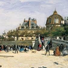 The Pont des Arts  Paris Norton Simon Museum