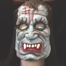 prop building mannequin head form face cover costume mask male
