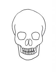 simple skull drawing learn how to draw a skull its so easy to draw