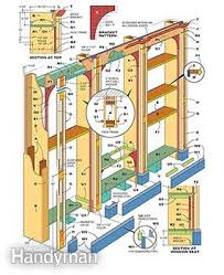 Free Wooden Bookcase Plans by How To Build A Built In Bookcase Family Handyman
