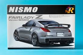 nissan 350z curb weight aoshima 1 24 nissan nismo fairlady z 350z model kit unboxing and