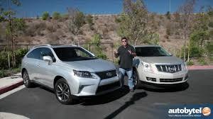 pictures of lexus suv 2015 lexus rx 350 f sport vs cadillac srx luxury crossover suv