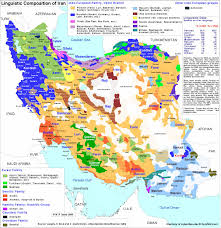 Color Coded Map Of Usa by Linguistic Composition Map Of Iran Color Coded Map Of All