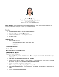 Good Resume Examples by Great Resume Examples Good Resume Profile Experience Best Resume