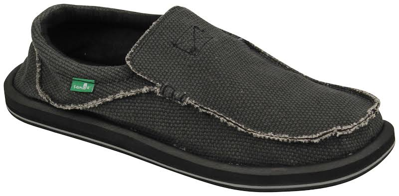 Sanuk M Chiba Slip-On Loafer, Black,