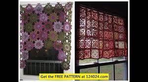 crochet curtains youtube
