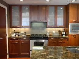 Kitchen Cabinets Door Pulls by Modern Glass Door Kitchen Cabinets Design Idea Rooms Decor And Ideas