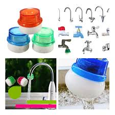mini household plug water filter purifier clean simple faucet tap
