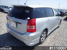 toyota wish used toyota wish from japan car exporter 1110007 giveucar