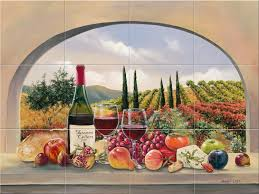 Garden Kitchen Ideas Kitchen Interesting Ideas For Kitchen Wall Decoration Using Tile