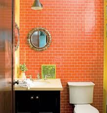 orange bathroom tiles ideas and pictures