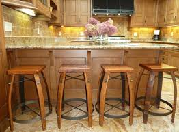 Rustic Kitchen Backsplash Rustic Kitchen Stools Home Decorating Interior Design Bath