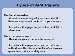 example of research paper outline by ubba   ASB Th  ringen Creating an APA Literature Review Outline
