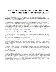 Writing Resumes And Cover Letters  format of a covering letter     Resume Cover Letter Samples of Resume Cover Letters Job Interview Site com