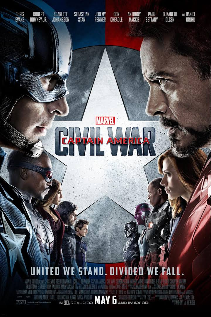 Captain America: Civil War (2016) Bluray Subtitle Indonesia