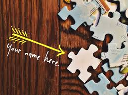 Please help us fill these blank puzzle pieces and become a part of this amazing journey