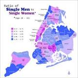 Image result for new york singles ratio