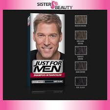 Shampoo For Black Colored Hair Amazon Com Just For Men Shampoo In Color Sandy Blond H 10