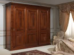 Wardrobes With Sliding Doors 19th Century French Bedroom Three Door Wardrobe With Inlays