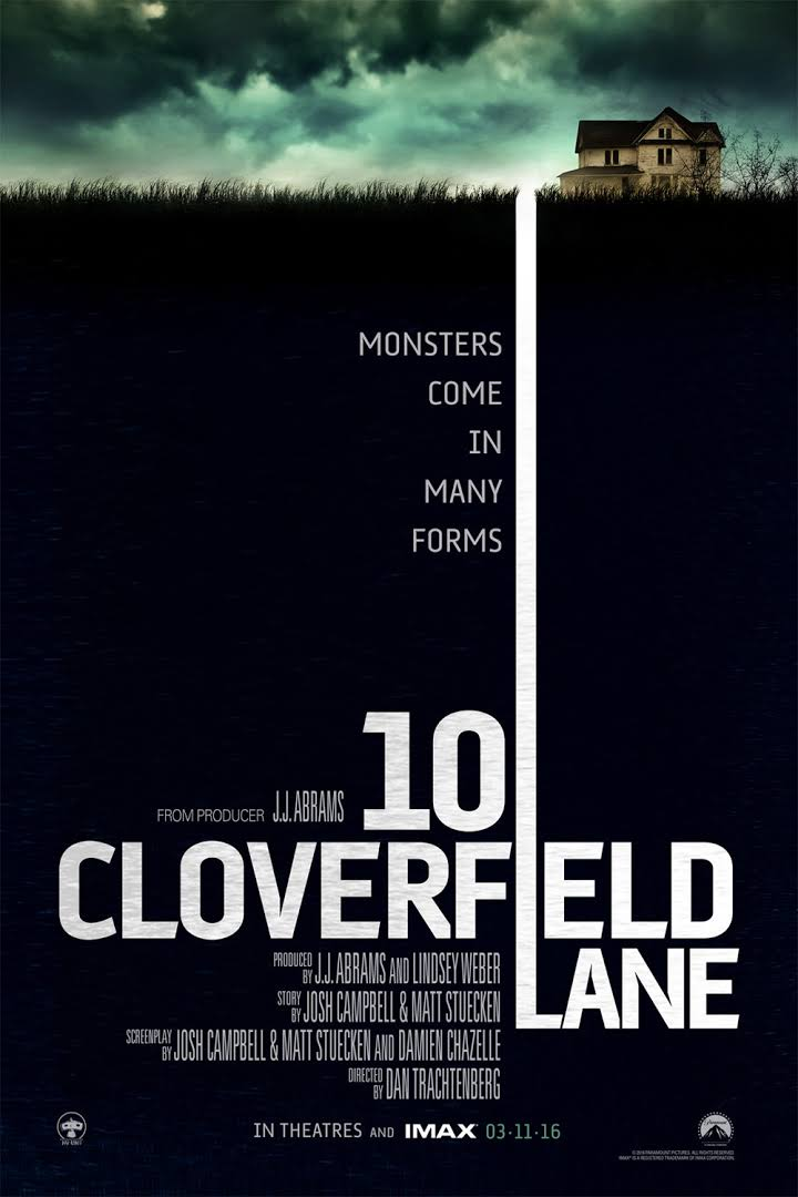 Review 10 Cloverfield Lane - Film Fantasi / Mystery 2016
