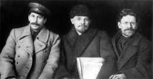 Stalin, Lenin, Trotsky