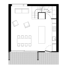 How To Draw A Floor Plan For A House Sam Architects Uses Brick And Charred Wood For London House