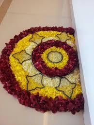 Indian Flower Design 25 Most Colourful Rangoli Designs With Flowers Rangoli Designs
