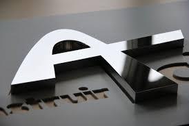 aluminium poli miroir enseigne en inox poli miroir construir acier association loi 1901