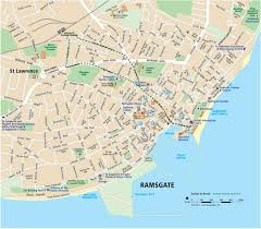 G Map Maps Of Margate Broadstairs And Ramsgate