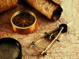 where the hell are you going vintage maps compass and tattoo