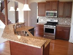 Kitchen Island Electrical Outlet Two Tier Kitchen Island Ideas St Cecilia Dark 2 Tiered Granite