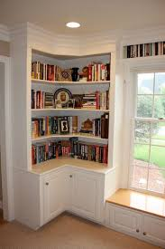 Free Wooden Bookcase Plans by Best 25 Corner Bookshelves Ideas On Pinterest Building