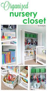 Closet Organizer For Nursery Nursery Closet Organize Nursery Nursery And Organizing