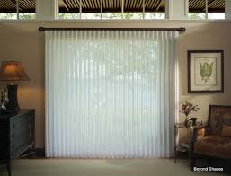 window treatment for glass door luminettes are a great alternative to vertical blinds for sliding