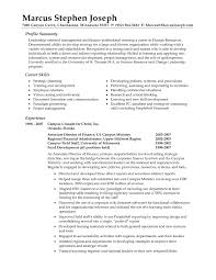 Senior Hr Manager Resume Sample by Operations Manager Resume Summary Best Free Resume Collection