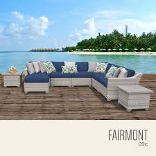Wicker Outdoor Furniture Sets by Tk Classics Fairmont 9 Piece Outdoor Wicker Patio Furniture Set 09c