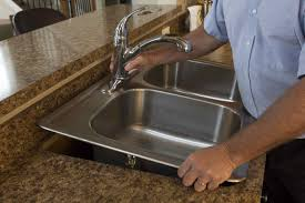How To Uninstall A Kitchen Faucet How To Replace A Drop In Kitchen Sink Sinkology