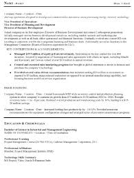Director Of Operations Resume Sample by Resume Sample 15 Manufacturing And Operations Executive Resume