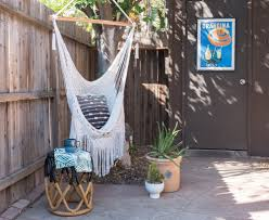 Macrame Hammock Chair Before U0026 After The Cozy Cactus Gets A Facelift U2014 Flippinwendy Design