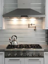 Commercial Kitchen Backsplash by Kitchen Stainless Steel Backsplash Tiles Pictures Ideas From Hgtv