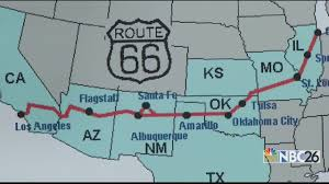 Route 66 Arizona Map by Better Biking Route 66 Bicycle Adventure Youtube