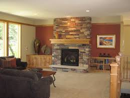 Kids Living Room Living Room Design With Stone Fireplace Bar Kids Traditional