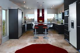 Red And Black Kitchen Ideas Red And Black Kitchen Latest Ge Profile Kitchen With Red Walls