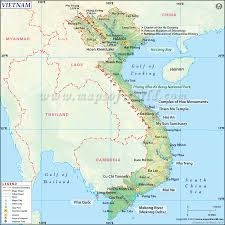 Pictures Of World Map by Map Of Vietnam Vietnam Map