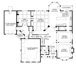 craftsman style house plan 6 beds 5 5 baths 6130 sq ft plan 132