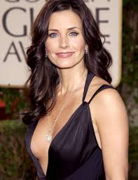 Courteney Cox in seethru lingerie - Nude Celebrities!