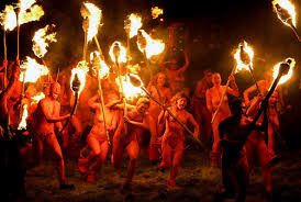 Beltane Fire Festival Held In