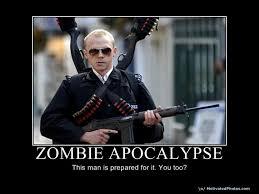 the zombie apocalypse � I